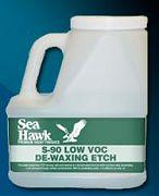 Sea Hawk S90GL De-Waxing Etch & Cleaner Gallon