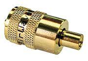 Seachoice    19891 PL258 UHF for RG58 No Adapt Gold