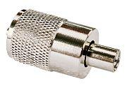 Seachoice  50-19981 PL258 UHF for RG58 No Adapt Silv