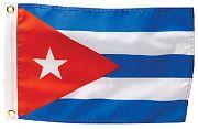Seachoice  50-78291 Cuba Flag 12 X 18