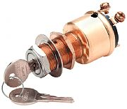 """Seachoice 11601 1"""" Chrome Plated Ignition Starter Switch"""