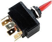 Seachoice 12221 Illuminated Toggle Switch - On/Off/On