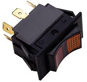 Seachoice 12441 Rocker Switch - On (Red)/Off/On