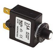 Seachoice 13091 5A Push Reset Circuit Breaker