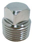 Seachoice 18741 Chrome Brass Plug Only 1/2