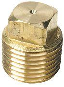 Seachoice 18761 Brass Plug Only 1/2
