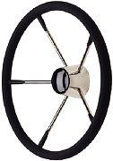 Seachoice 28581 Destroyer Steering Wheel W/ Permanent Foam Grip