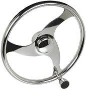 Seachoice 28611 13.5 SS Steering Wheel with Knob