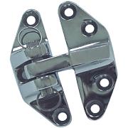 Seachoice 35101 Hatch Hinge - Chrome Brass