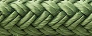 Seachoice 39681 Double Braid Nylon Dock Line - Forest Green 15´