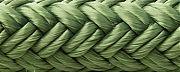 Seachoice 39681 Double Braid Nylon Dock Line - Forest Green 15´