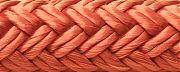 "Seachoice 39761 Double Braid Nylon Dock Line - Red 1/2"" x 25´"