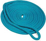 "Seachoice 39781 Double Braid Nylon Dock Line - Teal 3/8"" x 20´"