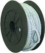 Seachoice 40731 Nylon Anchor Line Wht 1/2X100