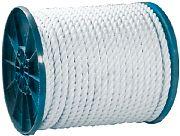 Seachoice 40810 Twist Nylon Rope Wht 1/2X600