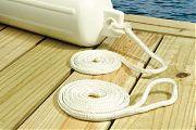 Seachoice 40921 Brd Fender Lines White 3/8X6´
