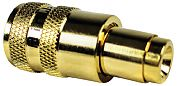 Seachoice 50-19881 PL259 with UG175 Reduce RG58 Gold