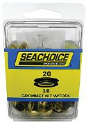 Seachoice BP9703SC 3/8 Grommet Kit with Tool 20/PK