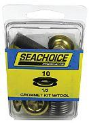 Seachoice BP9704SC 1/2 Grommet Kit with Tool 10/PK