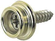 Seachoice BPH7251SC #8X5/8 Button with T/S SS 100/BG