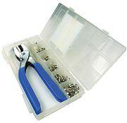 Seachoice KP7263SC Kit 72 PC Canvas Snap with  Tool