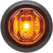 Seachoice MCL12AKSCH LED Marker Light Amber 1 Diode