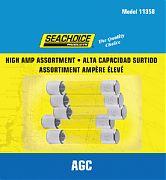 Seachoice SC11358 5PC High Amp Agc Glass Fuses