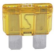 Seachoice SC11379 20 Amp Atc Blade Fuses 5PK