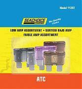 Seachoice SC11387 5PC Low Amp Atc Blade Fuses