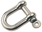 Seadog 147008 D Shackle Cast SS 5/16