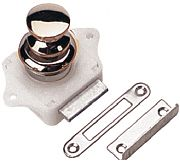 Seadog 224300-1 Push Button Rim Latch Chrome