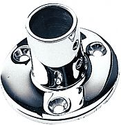"Seadog 2809011 Round Rail Base - Stainless Steel 1"" - 90"