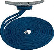 """Seadog 302110015BL-1 Dock Line Dbl Blue 3/8""""X15´"""