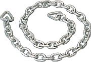 "Seadog 312844 Galvanized Anchor Chain 1/4"""