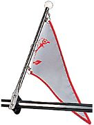 Seadog 327120-1 Flag Pole with Rail Mount