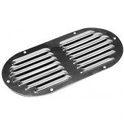 Seadog 331405 Oval Louvered Vent - Stainless Steel