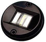 Seadog 4000631 Black Round LED Transom Light
