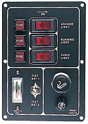 Seadog 422310-1 Switch Panel with Cig. Lighter