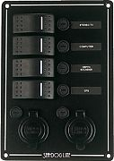Seadog 425146-1 Switch Panel 4 Circuit with