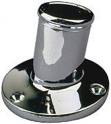 Seadog 492212-1 Chrome Brass Pole Socket 1 Inc