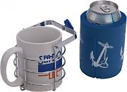 Seadog 588130-3 Chrome Brass Swivel Beverage