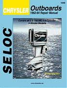 Seloc 1000 Chrysler Outboard Engines Shop Manual