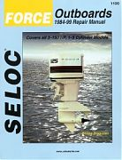 Seloc 1100 Force Outboard Engines Shop Manual