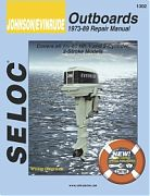 Seloc 1302 Johnson/Evinrude Outboard Engines Shop Manuals 1973-89