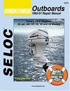 Seloc 1311 Johnson/Evinrude Outboard Engines Shop Manual 1992-01