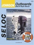 Seloc 1314 Johnson Outboard Engines Shop Manual