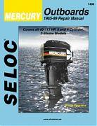 Seloc 1406 Mercury Outboard Engines Shop Manual 1965-89