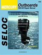 Seloc 1408 Mercury Outboard Engines Shop Manual 1965-89