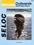 Seloc 1416 Mercury/Mariner Outboard Engines Shop Manual 1990-00