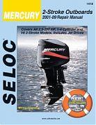 Seloc 1418 Mercury Outboard Engines Shop Manual 2001-09